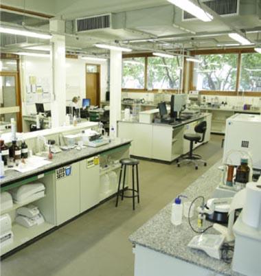 Aulas demonstrativas nos Laboratórios da Celulose Riograndense