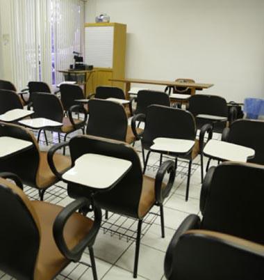 Aulas no Centro de Treinamento da Celulose Riograndense